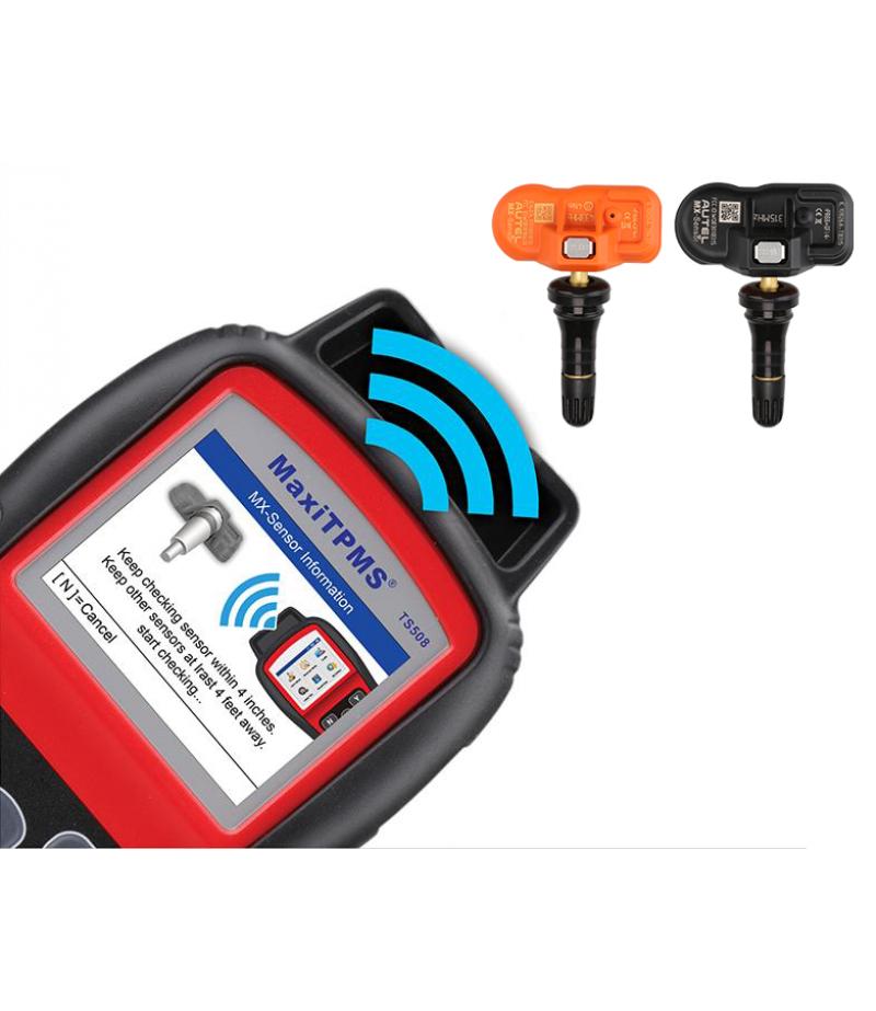 Autel MX-Sensor 433MHz/315MHz Universal Programmable TPMS Tire Pressure Monitor Sensor Replacement