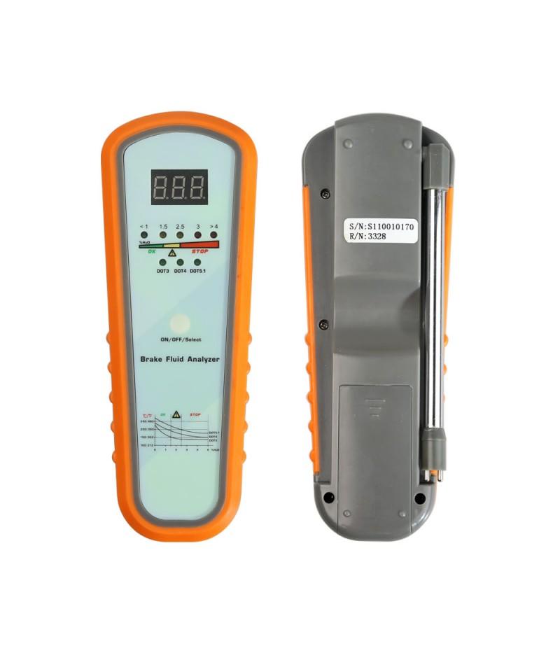 KZYEE KS11 Brake Fluid Analyzer Professional Brake Fluid Tester Digital Brake Fluids Analyzer with 5 LED Indicator Calibrated for Truck Car Diagnosis