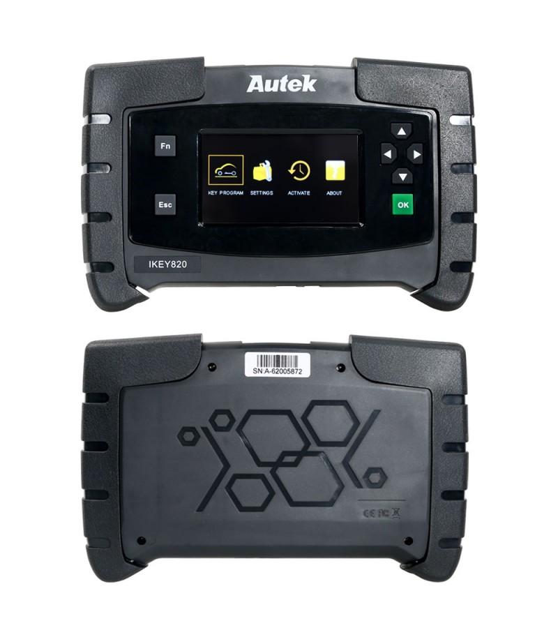 Original Autek IKey820 OBD2 Car Key Programmer