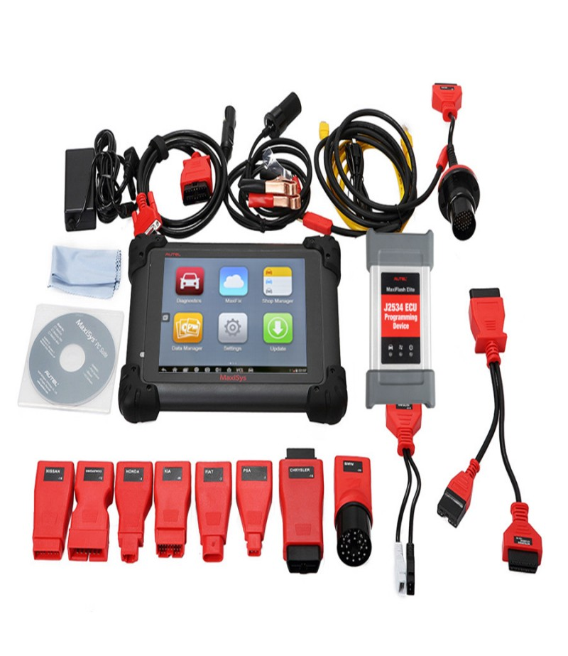 Original Autel MS908P MaxiSys MS908s Pro Wifi OBD Full System Diagnostic with J2534 MaxiFlash Elite