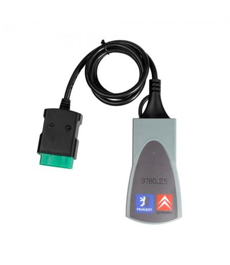 Lite Version Lexia-3 lexia3 V48 Citroen/Peugeot Diagnostic PP2000 V25 with Diagbox V7.8.3 Software