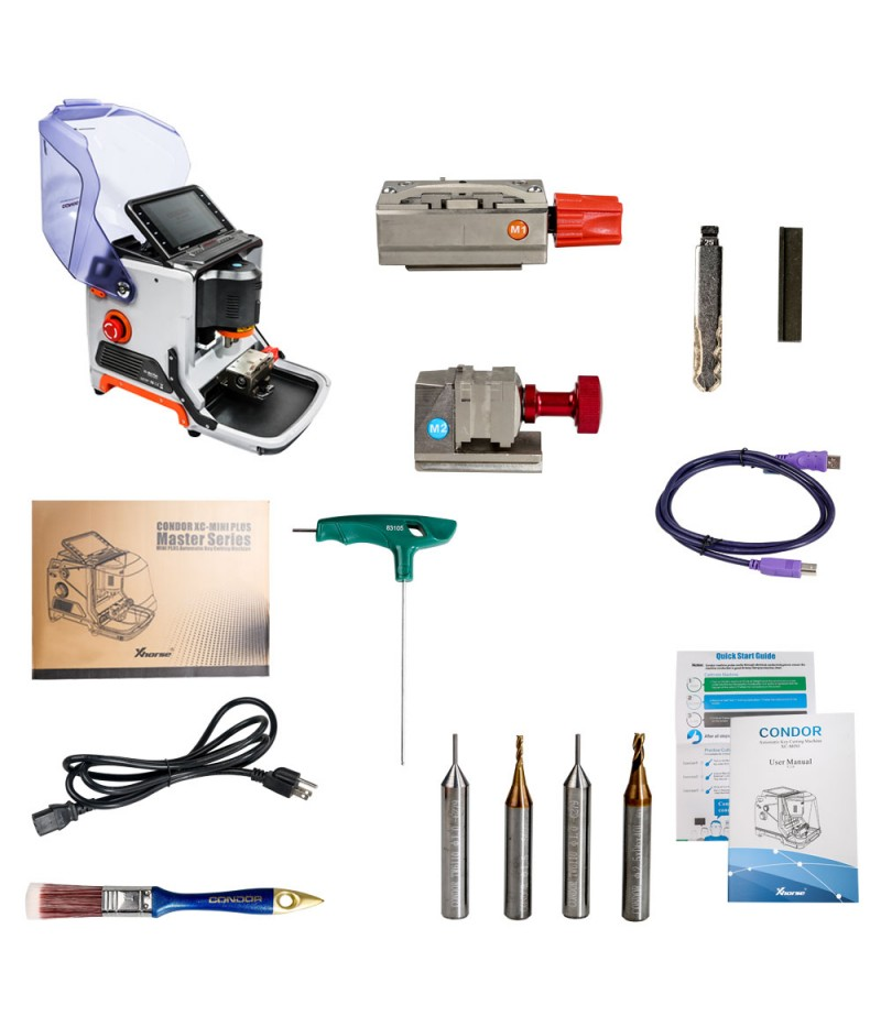 Xhorse CONDOR XC-MINI Plus CONDOR XC-MINI II Automatic Key Cutting Machine with 3 Years Warranty