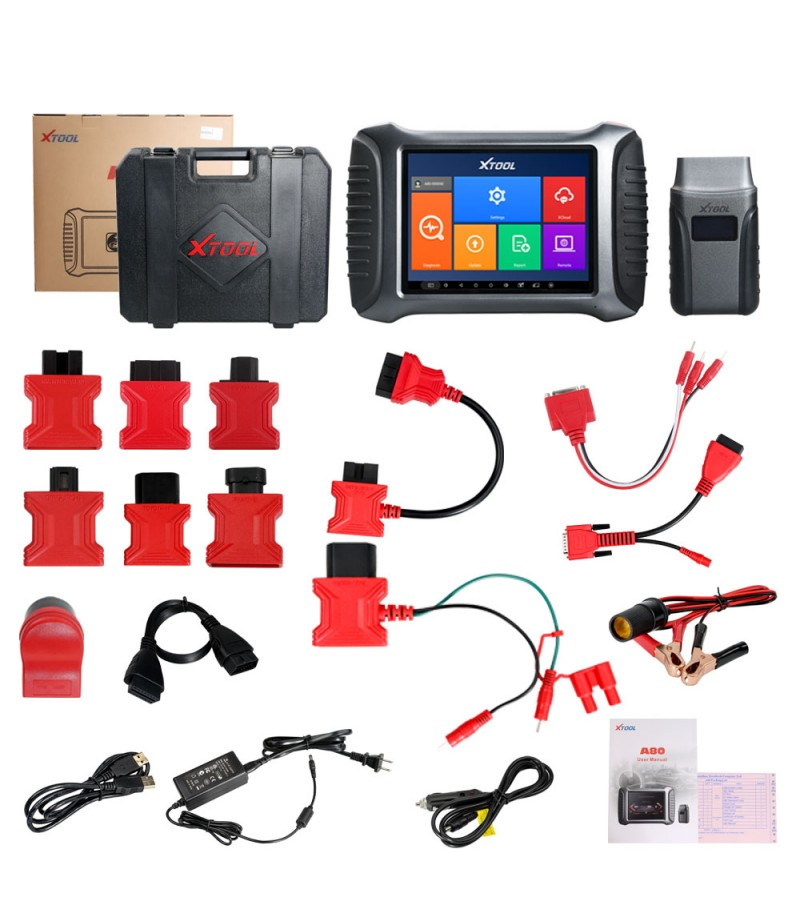 2019 XTOOL A80 Full System Car Diagnostic tool Car OBDII Car Repair Tool Vehicle Programming/Odometer adjustment