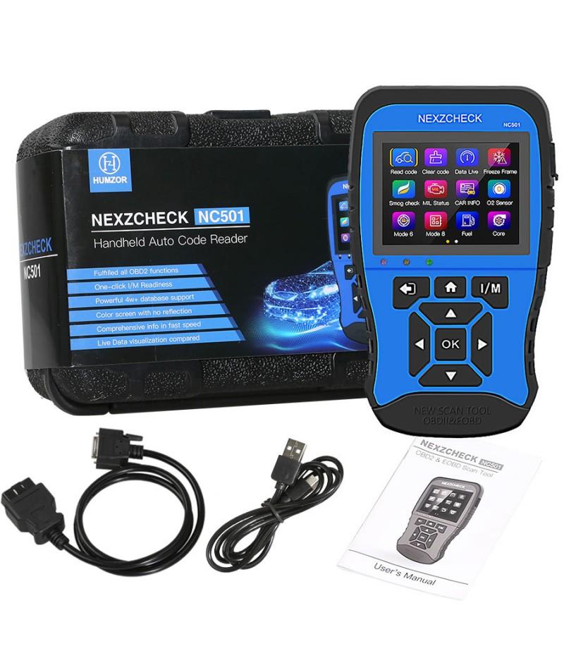 HUMZOR NexzCheck NC501 OBD2 & EOBD Scanner for Universal Vehicles
