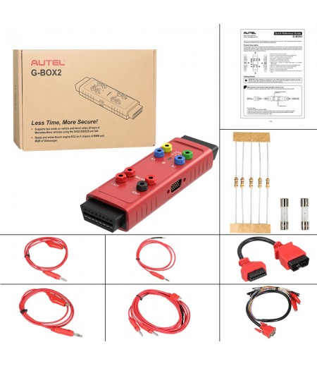 Original Autel G-BOX2 Tool for Mercedes Benz All Key Lost Work with Autel MaxiIM IM608/IM508