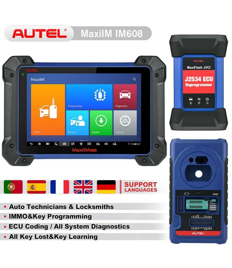 Original Autel MaxiIM IM608 ADVANCED IMMO & KEY PROGRAMMING Perfect Replacement of AURO OtoSys IM600 No IP Blocking Problem