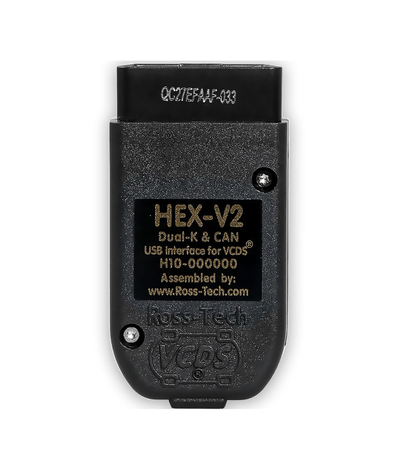 Ross-Tech VCDS V2 20.4  HEX-V2 English Version Intelligent Dual-K & CAN USB Interface Car Auto Fault Diagnosis Wire Cable with CD Software