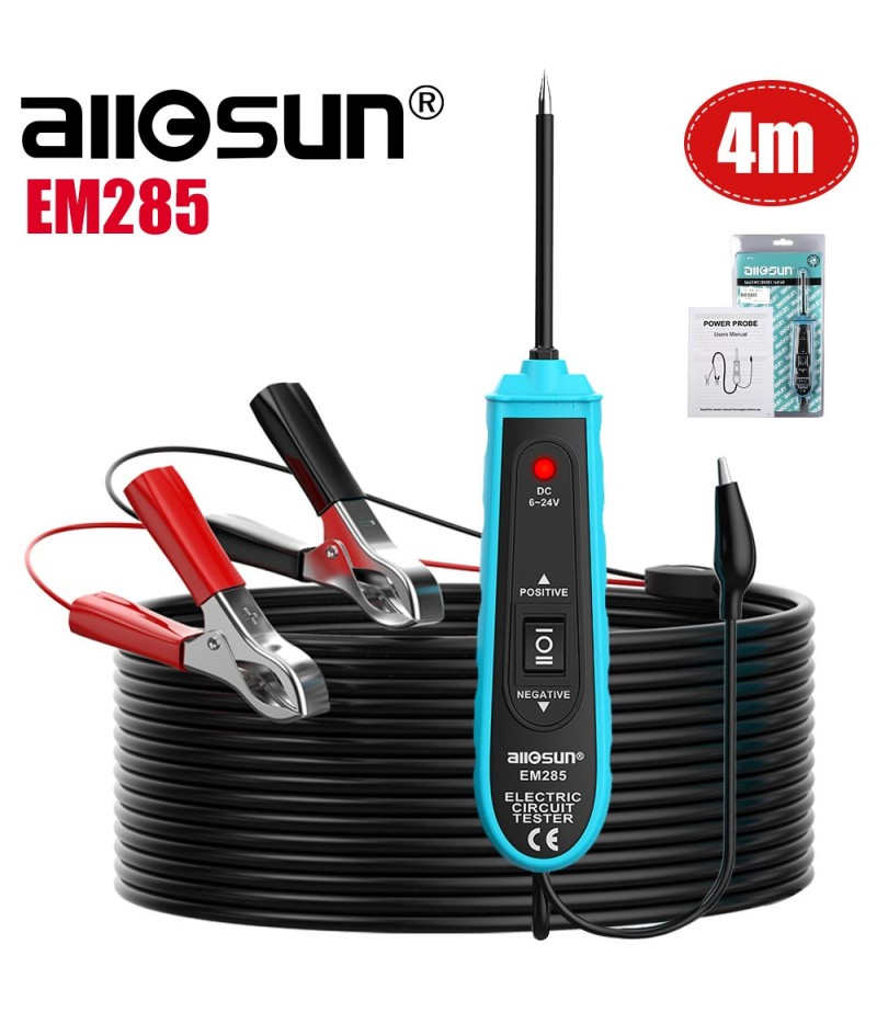 All-Sun EM285 Power Probe Car Electric Circuit Tester Automotive Tools 6-24V DC