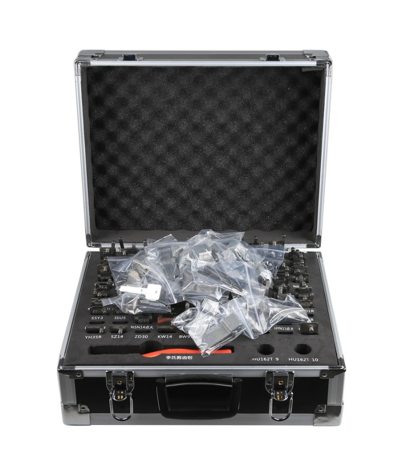 LISHI 2 in 1 Auto Pick and Decoder Locksmith Kit Including 77Pcs