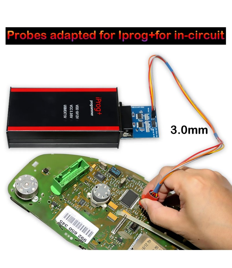 Probes Adapters for in-circuit ECU Work with Iprog+ Programmer and Xprog