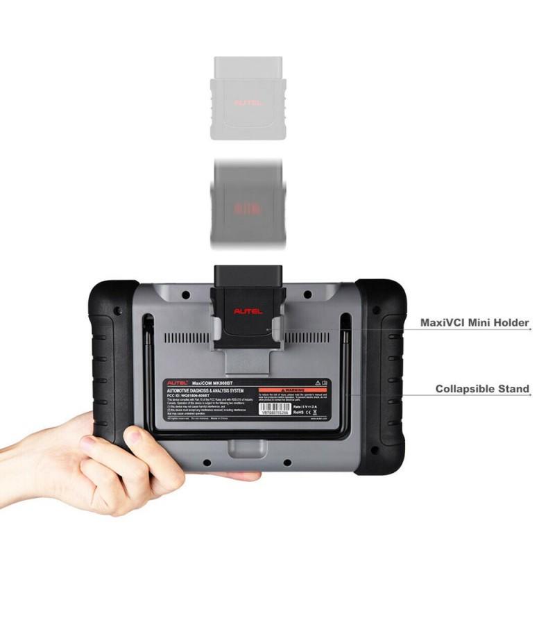 Autel MaxiCOM MK808BT OBD2 Diagnostic Scan Tool ABS SRS EPB DPF BMS SAS TPMS IMMO MK808 Code Reader