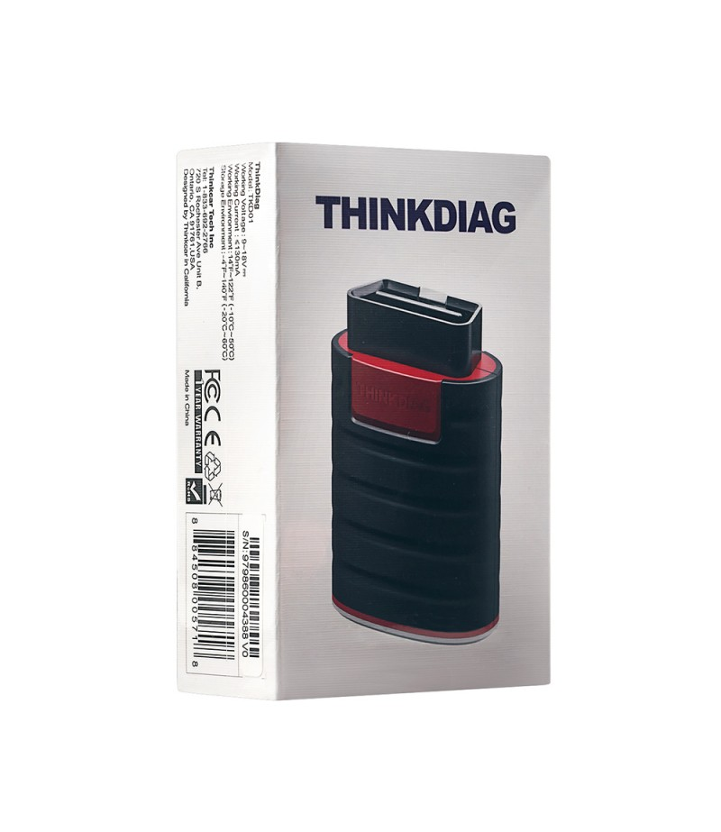 Thinkdiag Full System OBD2 Diagnostic Tool Powerful than Launch Easydiag With 3 Free Software