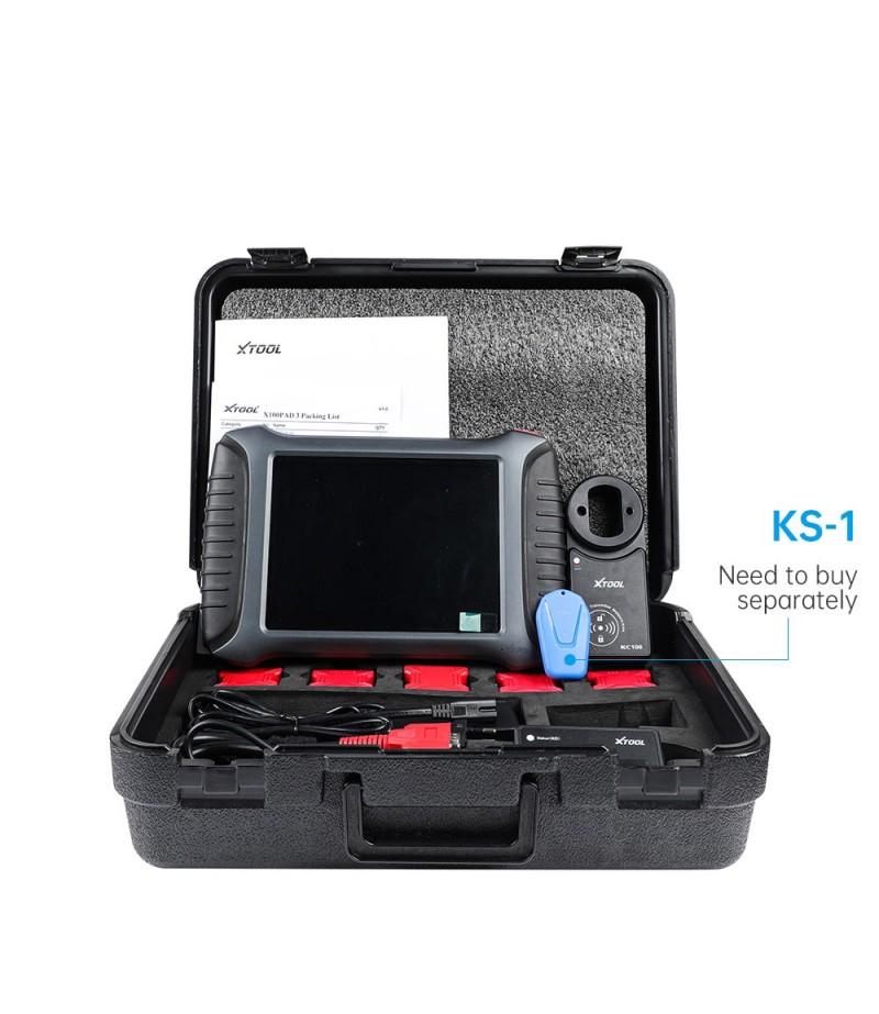 XTOOL X100 PAD3 X100 PADIII Professional Tablet Key Programmer With KC100