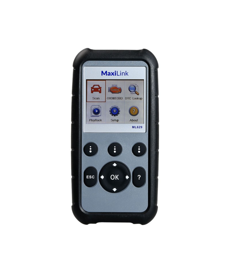 100% Original Autel MaxiLink ML629 ABS/Airbag/AT/Engine Code Reader Scanner CAN OBDII Diagnostic Tool