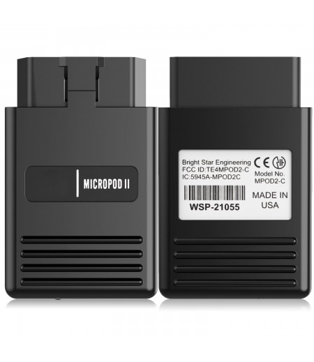 High Quality MicroPod 2 wiTech 17.04.27 for Chrysler Diagnostics and Programming