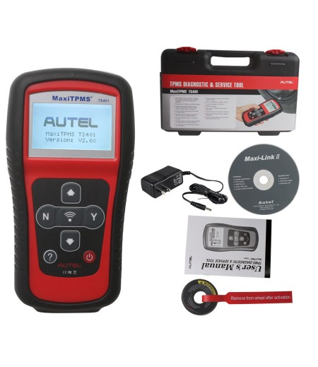 Original Autel MaxiTPMS® TS401 V5.22 TPMS Diagnostic and Service Tool