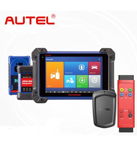 Original Autel MaxiIM IM608 Key Programmer Full Version with Autel APB112 Smart Key Simulator and G-BOX2 Adapter No IP Blocking Problem