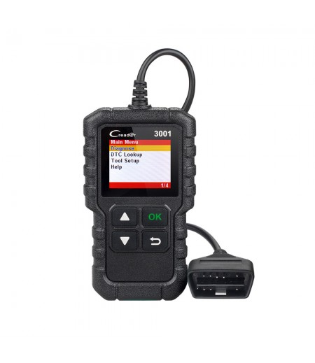 Launch Creader 3001 Full OBDII/EOBD Code Reader Scanner CR3001 Diagnostic Tool Multilingual