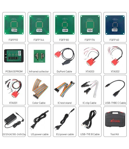 XTOOL KC501 Key and Chip Programmer for X100 PAD3 i80 Auto Pro Pad