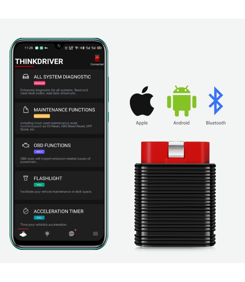 Original Launch ThinkCar Pro Thinkdiag Mini OBD2 Full System Scanner