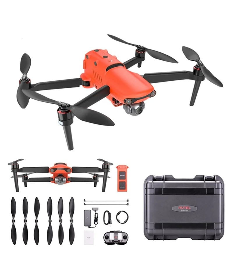 Autel Robotics EVO II Drone 8K HDR Video Camera Drone Foldable Quadcopter Rugged Bundle