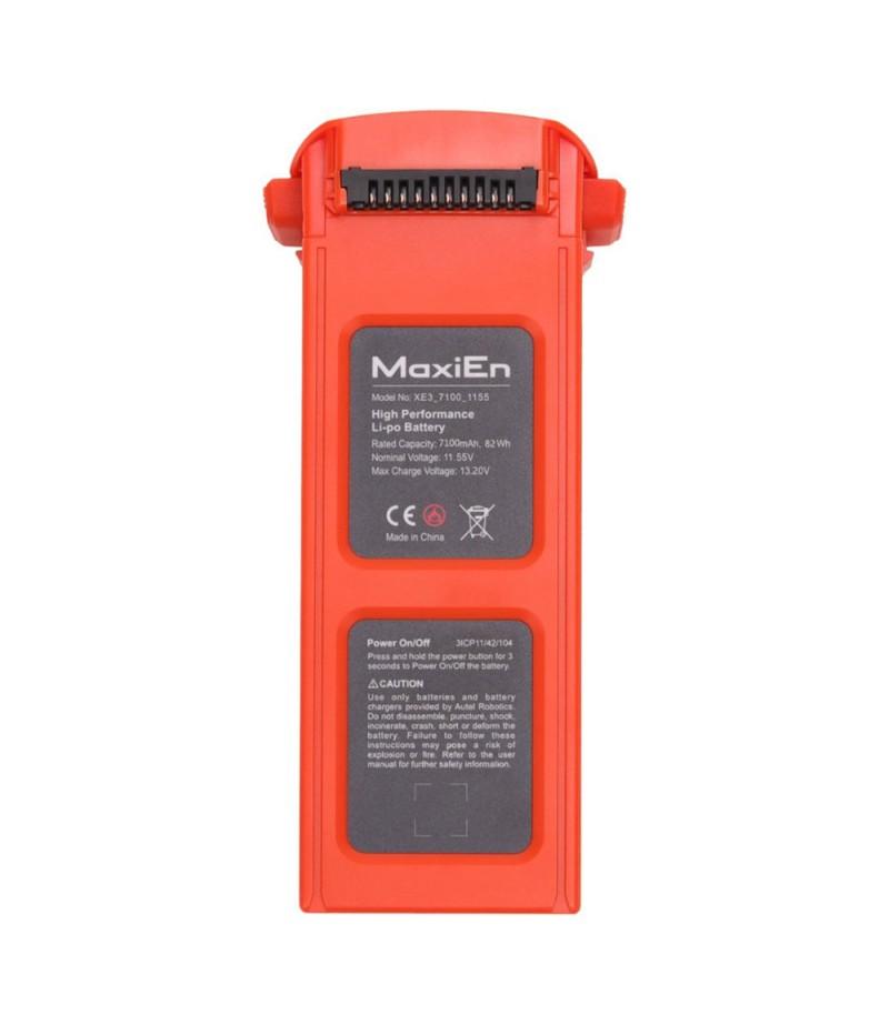 Original Autel Robotics Flight Battery 7100mAh Li-Po Charging Battery for Autel Robotics EVO II / EVOII Pro 8K 6K / Dual HD Camera Drone