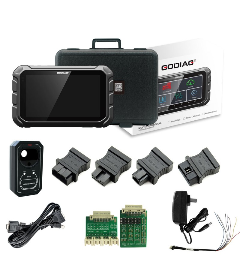 GODIAG GD801 Key Programmer Support Multi-Functions for ABS EPB TPMS EEPROM