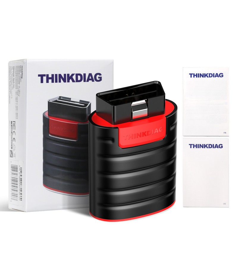 THINKCAR Thinkdiag Full System OBD2 Diagnostic Tool with All Car Brands License Activated 2 Year Free Update Online