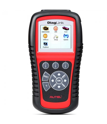 AUTEL Diaglink OBD2 Scanner All System Car Diagnostic Tool  DIY Version of MD802