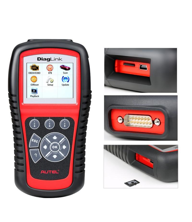 AUTEL Diaglink OBD2 Scanner All System Car Diagnostic Tool  DIY Version of MD802