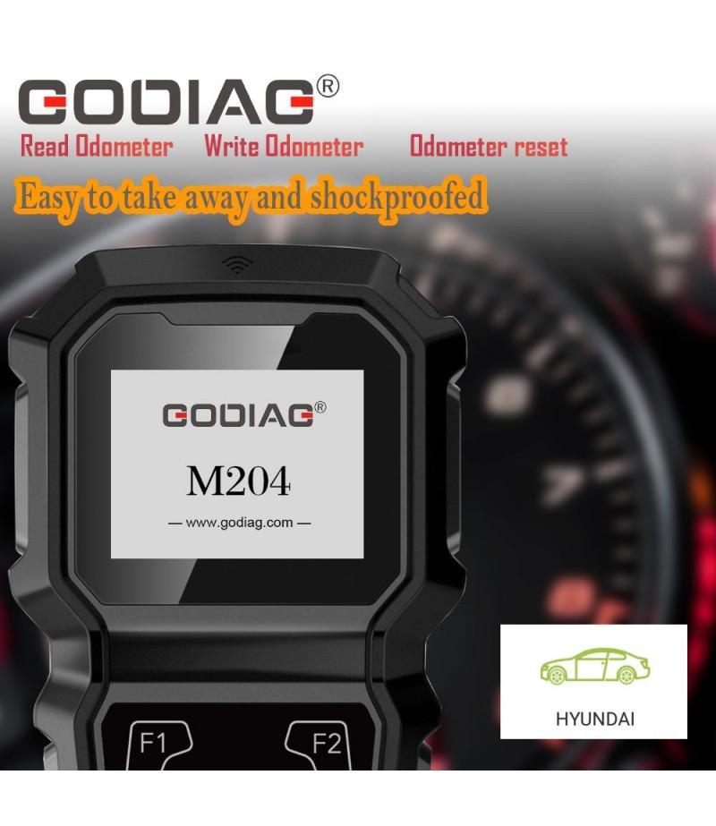 GoDiag M204 Hyundai Hand-held OBDII Odometer Adjustment Professional Tool