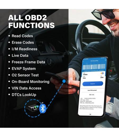 TOPDON Smartdiag Mini Bluetooth OBD2 Scanner Auto Diagnostic Tool Code Reader Easydiag OBD Automotive Tool as Thinkdiag Mini
