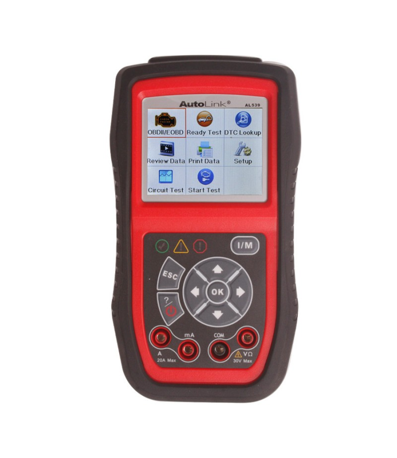 100% Original Autel AutoLink AL539 OBDII/EOBD/CAN Scan and Electrical Test Tool