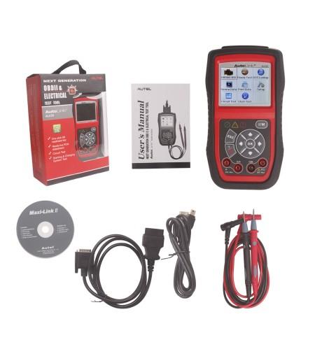 100% Original Autel AutoLink AL539 OBDII/EOBD/CAN Scan and Electrical Test Tool