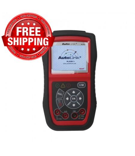 100% Original Autel AutoLink AL539B OBDII Code Reader & Battery Test Tool