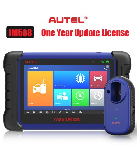Original Autel MaxiIM IM508/Auro OtoSys IM100 One Year Update Service (Subscription Only)