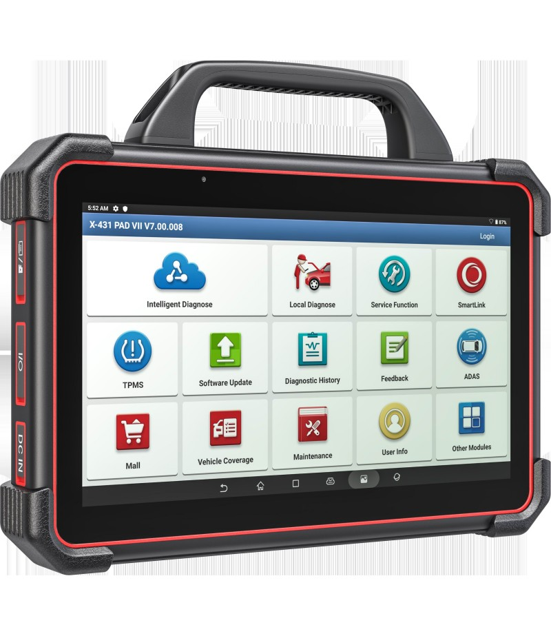Launch X-431 PAD VII PAD 7 with ADAS calibration Automotive Diagnostic Tool Support Online Coding and Programming