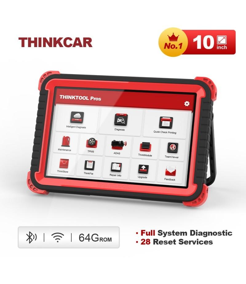 THINKCAR Thinktool Pros OBD2 Car Diagnostic Tool Auto All System Diagnosis 28 Maintenance ADAS ECU PK LAUNCH X431 V Scan Tools