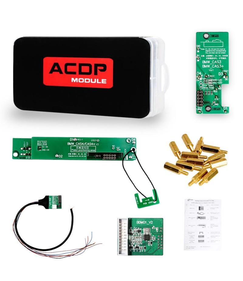 Yanhua Mini ACDP Key Programming Master Basic Module with BMW CAS1 CAS2 CAS3 CAS3+ CAS4 CAS4+ IMMO Key Programming & Odometer Reset Adapter