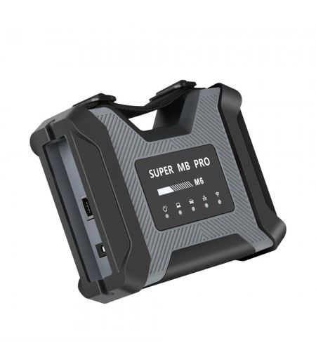 SUPER MB PRO M6 Wireless Star Diagnosis Tool Full Configuration Work on Both Cars and Trucks