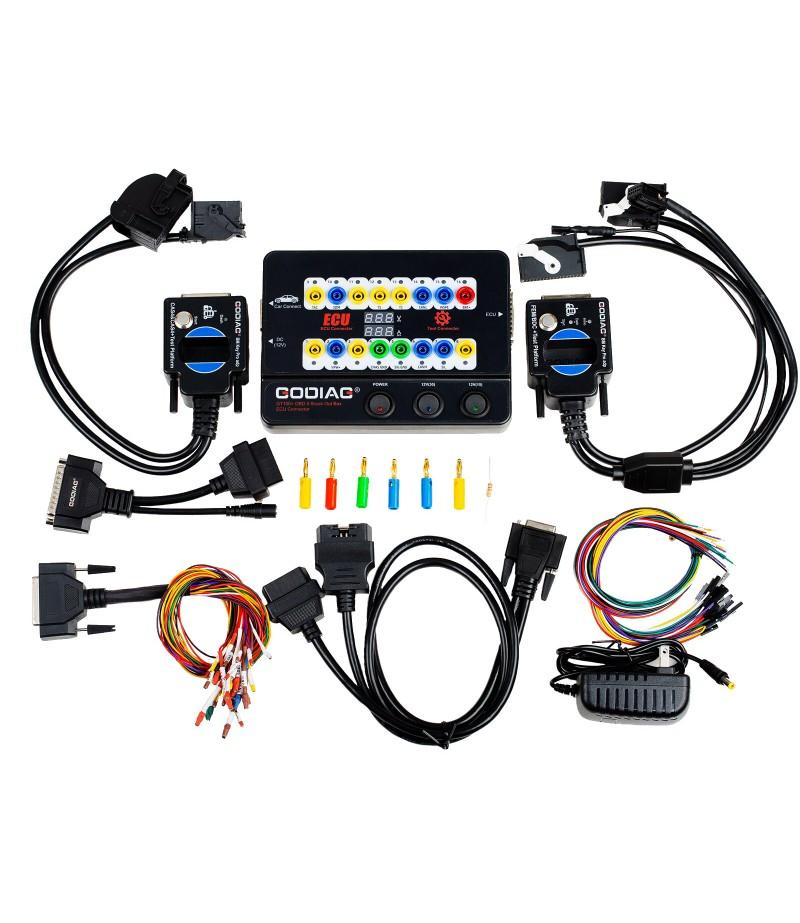 GODIAG GT100+ GT100 Pro Breakout Box ECU Tool with BMW CAS4 CAS4+ and FEM BDC Test Platform Support All Key Lost
