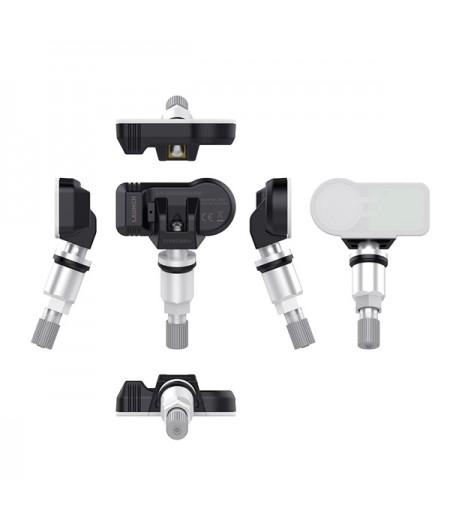 4pcs LAUNCH LTR-01 RF Sensor 315MHz & 433MHz TPMS Sensor Tool Metal & Rubber
