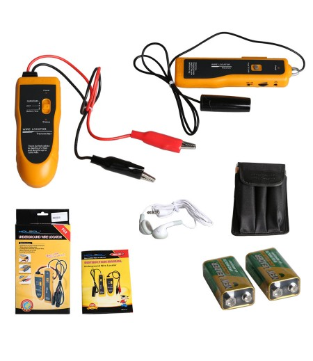 KOLSOL F02 Underground Cable Wire Locator Tracker Lan With Earphone