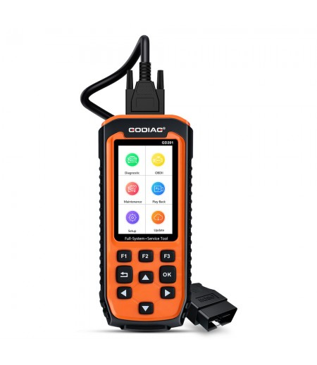 GODIAG GD201 Professional OBDII All-makes Full System Diagnostic Tool with 29 Service Reset Functions