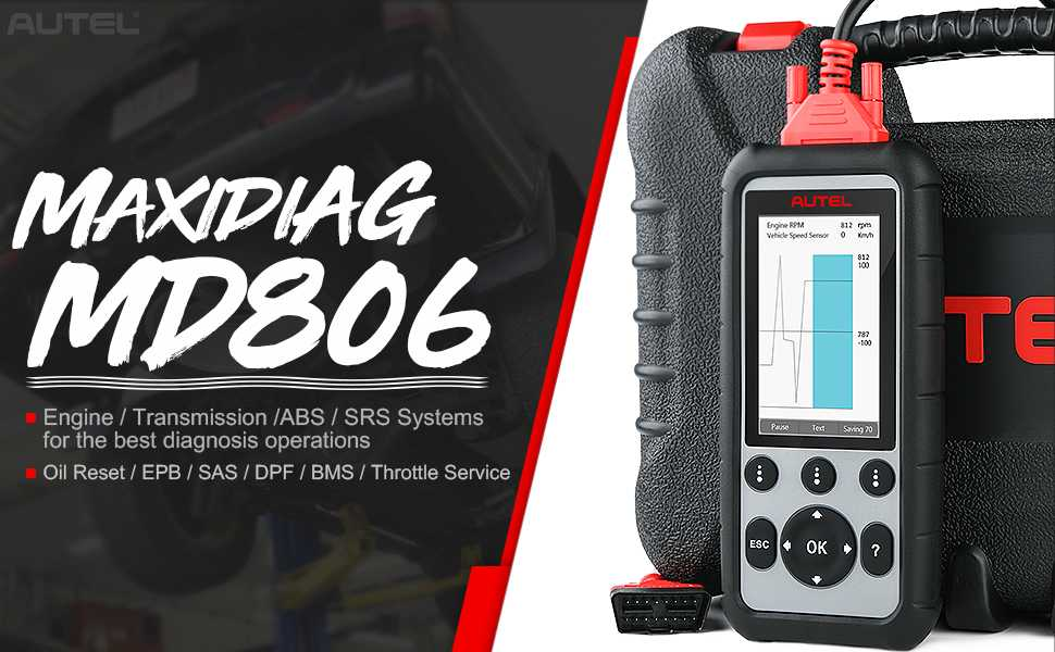 Autel MaxiDiag MD806 Pro Full System Diagnostic Tool