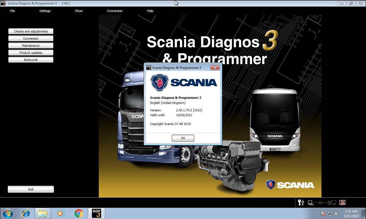 Scania SDP3 2.40.1