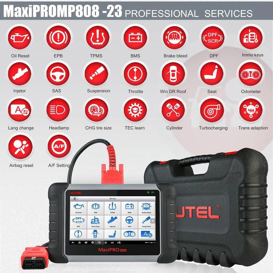 Autel MaxiPRO MP808K service function