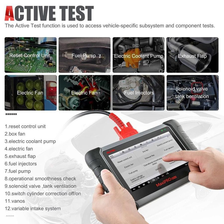 Autel MP808K active test