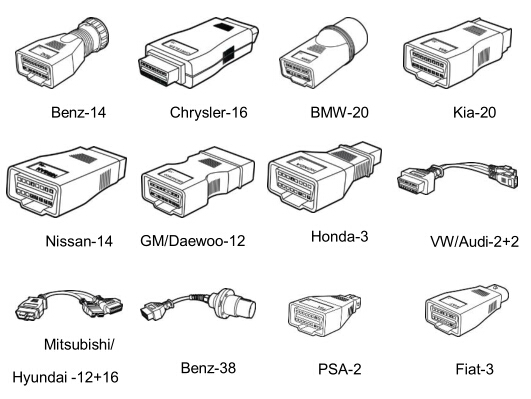 DS808 adapters