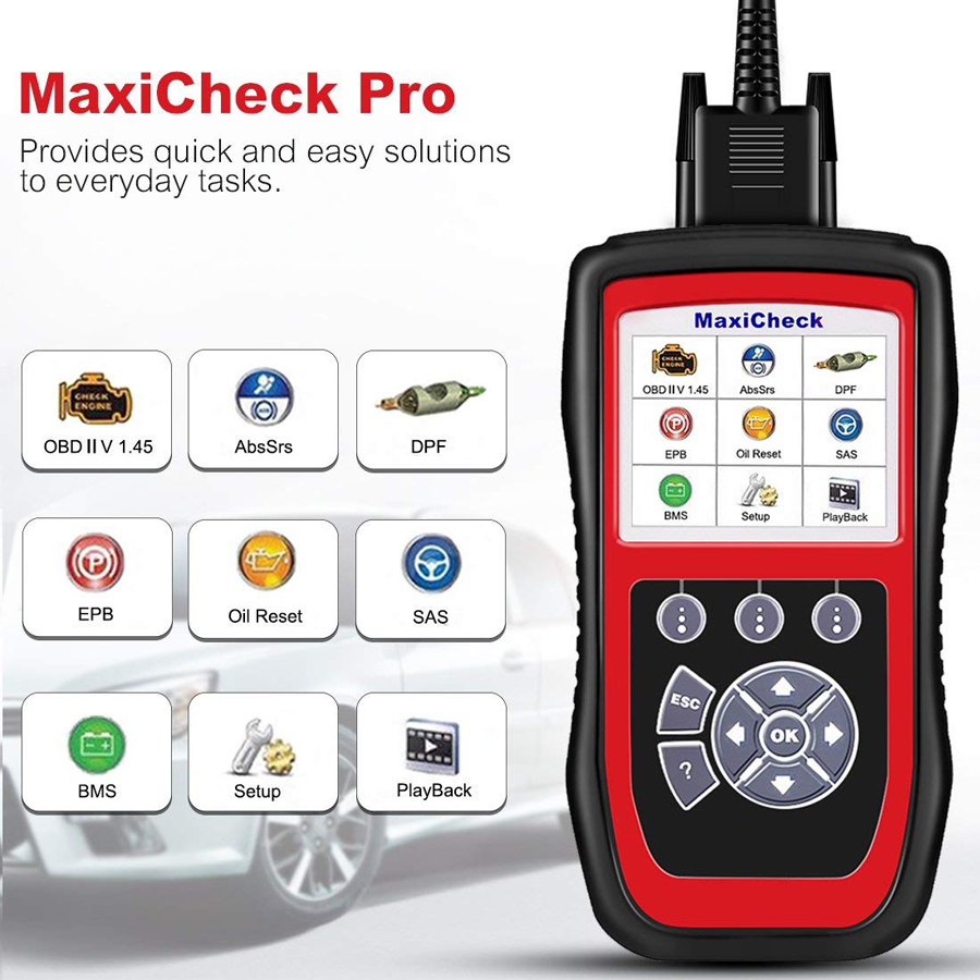 MaxiCheck Pro quick and easy solutions
